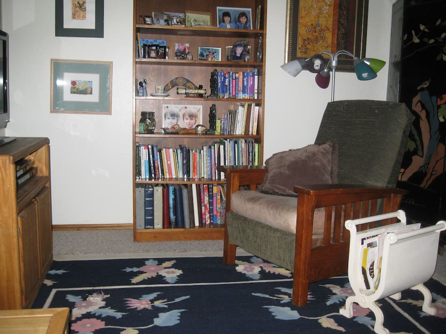 The other part of the living room.