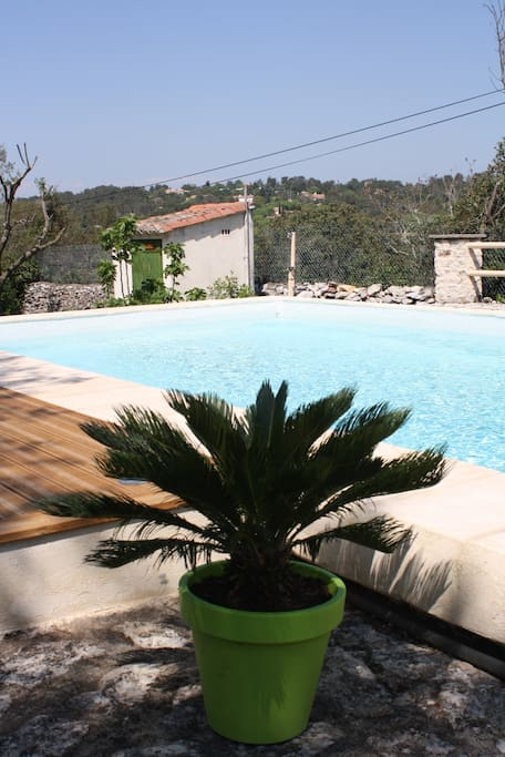 Provencal cottage for 6 pers Nîmes
