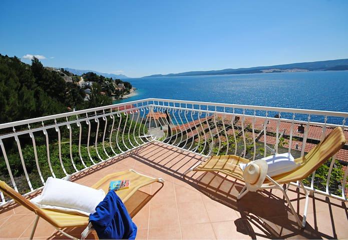 Privacy and the view at Villa Sunny - Čelina (Zavode) - House