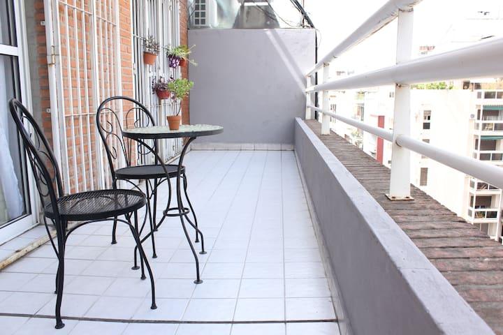 Amplio apartamento & terraza en Recoleta!