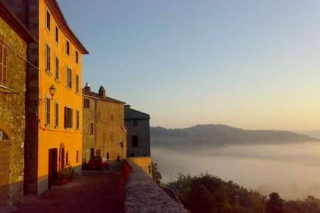 House with garden Orvieto Umbria