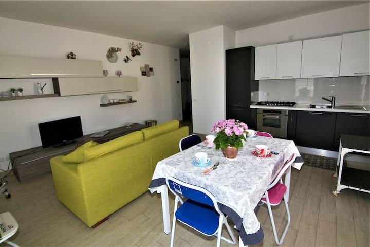 Delizioso appartamento vicino al mare