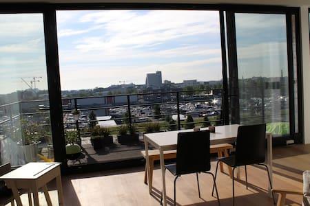 Penthouse in Antwerp's trendy Eilandje - Byt