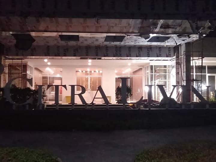 Apartemen Citra  hanya 10 menit dari bandara Sotta