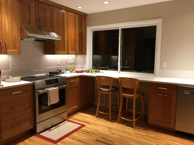 Our recently remodeled kitchen!