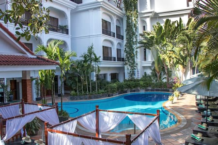 Superior-Triple beds-Free breakfast & pick-up - Krong Siem Reap