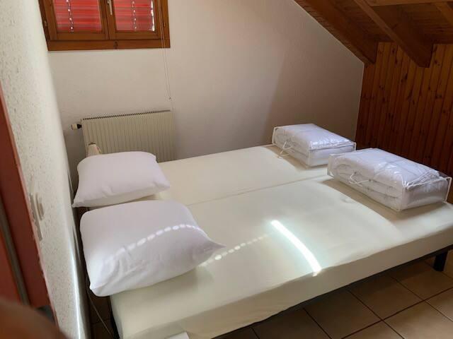 Manufacture 15, 3ème chambre 2 lits