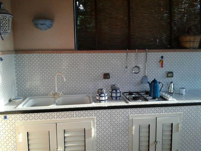 Villa Passo Mandorle. - Piane Vecchie,Lascari  - Villa