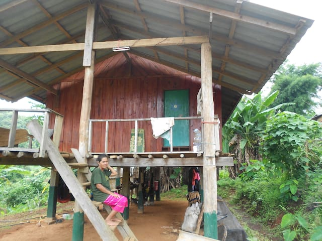 Authentic Home Stay in a Karen Tribe Village