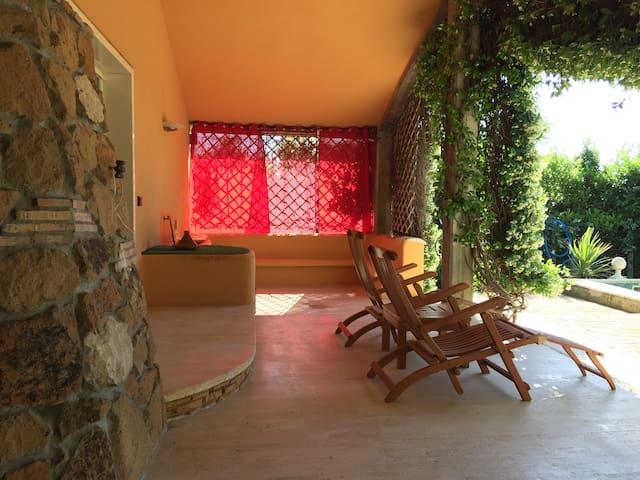 Chaise lounge da esterno
