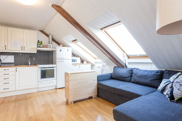 Cozy loft apartment with great view - Stavanger - Appartamento