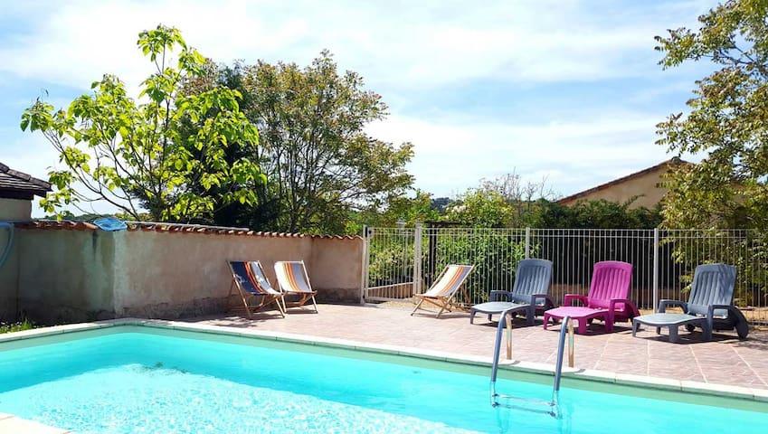 Villa Rosa, Dordogne Perigord, Private heated pool