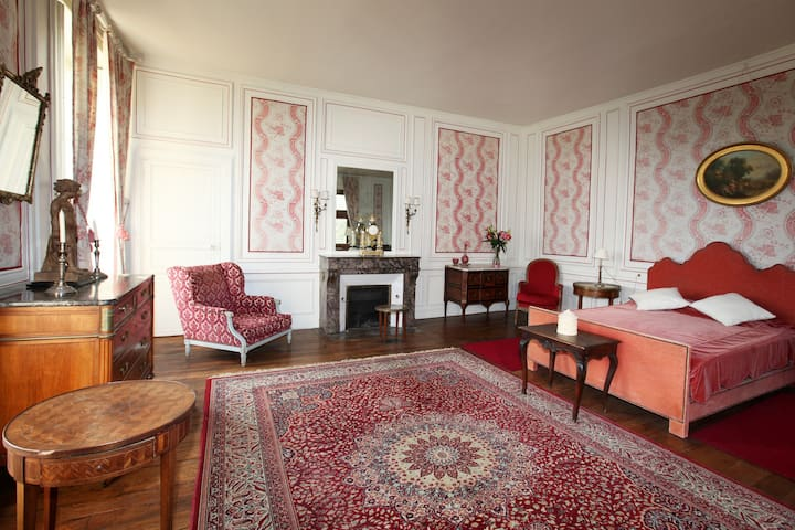 Suite aux carquois - Chateau de Cheronne - Tuffé - Hrad