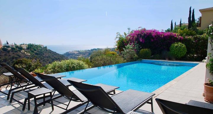 Luxurious Villa Thrasos with fabulous sea views