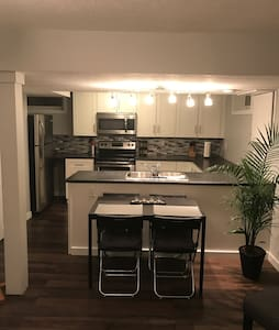 Beautiful 2 bdrm lower suite steps from the LRT - Edmonton - Apartment