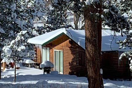 Winter Hideaway Cabin on the Cache la Poudre River