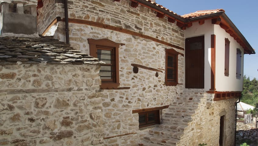 Greek island village house - Thasos - วิลล่า