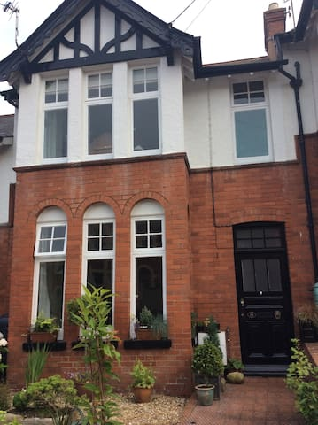 Elegant Edwardian terrace house in Sidmouth.