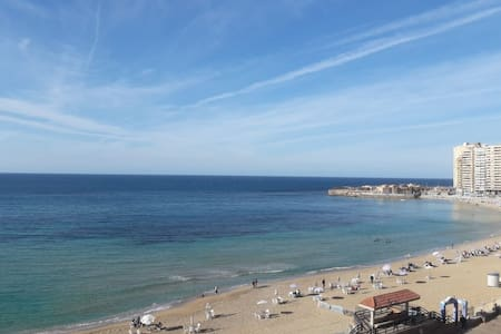 Beach Front Flat with amazing views in Sidi Beshr!