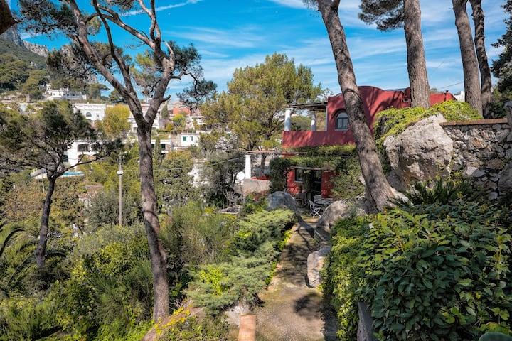 La Casa Rossa-The Red House. Whole Villa