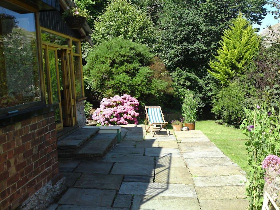 The Patio /  back Garden