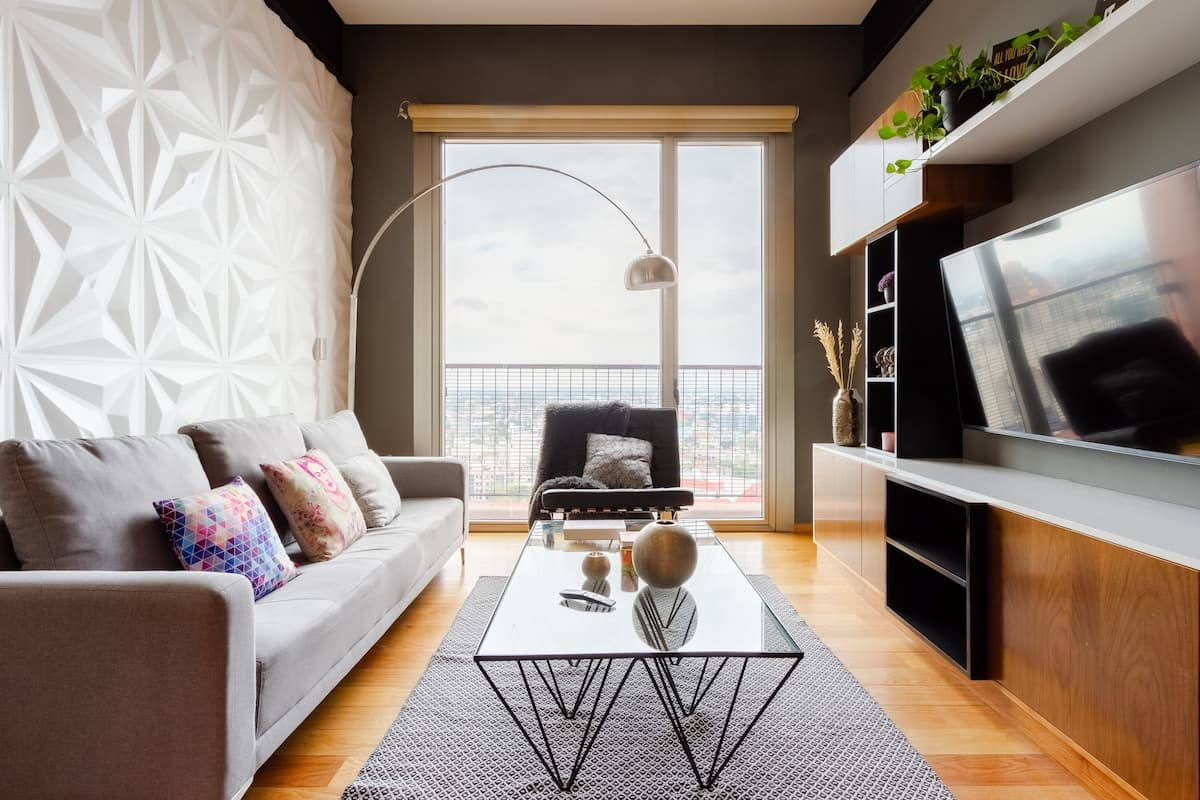 Wake up to Sweeping City Views at a Sleek Urban Nest