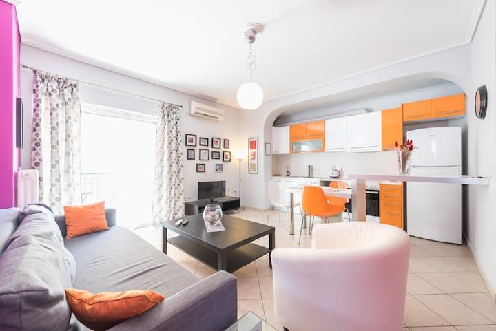 New, cozy and quiet apartment