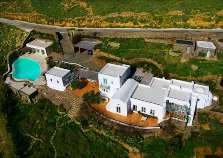 Unique villa in Mykonos, Greece