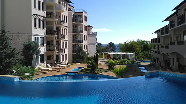 Beautiful Seaview 2-bdm. Serviced Apartment