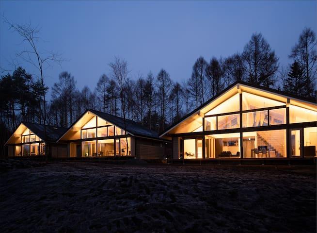 Villa Metsä KARUIZAWA【A棟】軽井沢で暮らすように泊まる北欧ラグジュアリーヴィラ