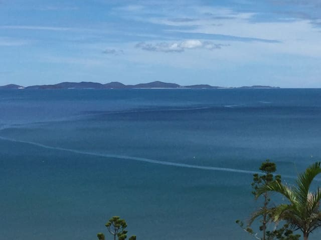 Perfect views from the sea villa - Yeppoon - Pousada