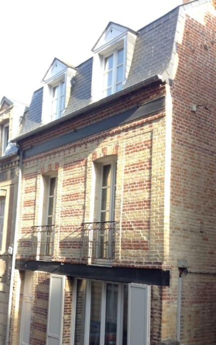 maison sur rue