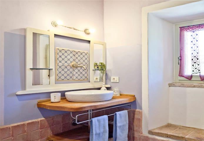 Poggio Prugnoli - camera GINESTRA - Urbino - Houten huisje