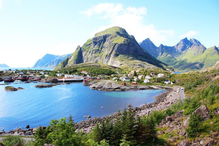 My village Å in Lofoten, from last summer 2015.