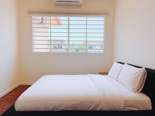 Singa Angsa House 温馨2A卧室@Room2A