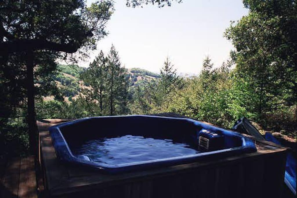 Outdoor Hot Tub - available on request additonal fee