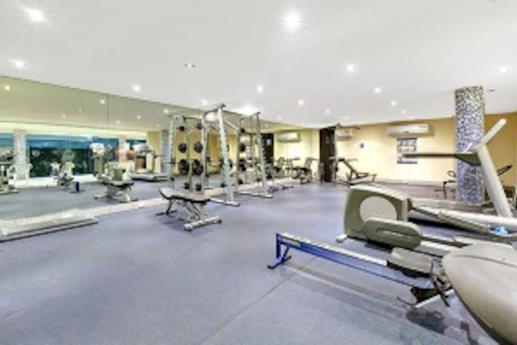 fully fitted out gym means no excuses for a lazy break