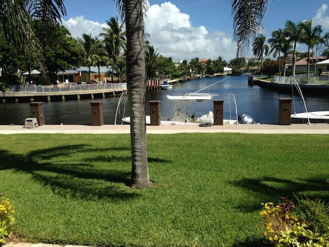 Highland Beach Waterfront Townhome