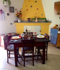 Historic hilltop village house - Santa Domenica Talao - 独立屋
