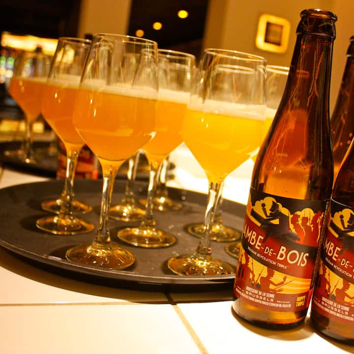 Craft beer from Brussels
