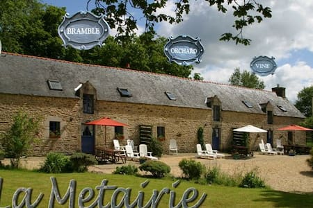 Vine Cottage, Heated shared pool - Camors - Hus