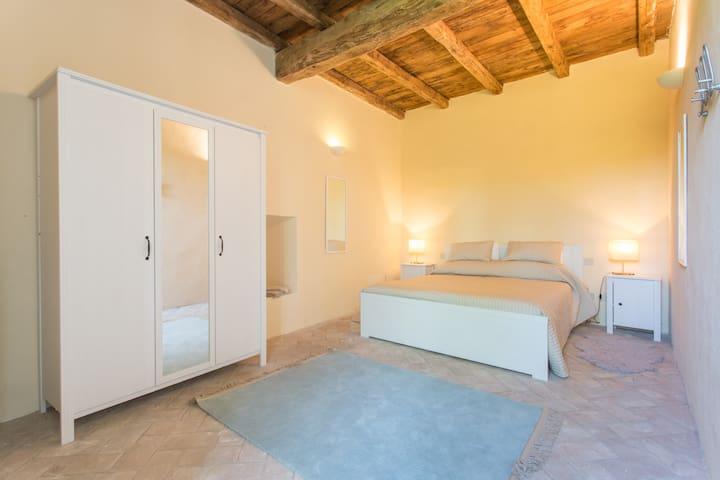Second double bedroom on lower floor