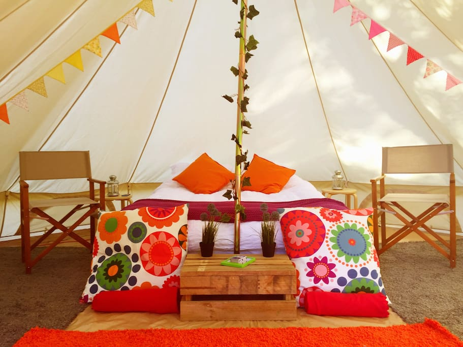 Glamping at it's finest!