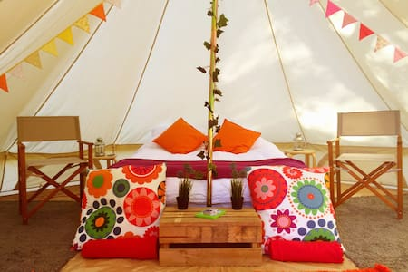 Luxury Glamping Bell Tent in Cattai National Park - Cattai