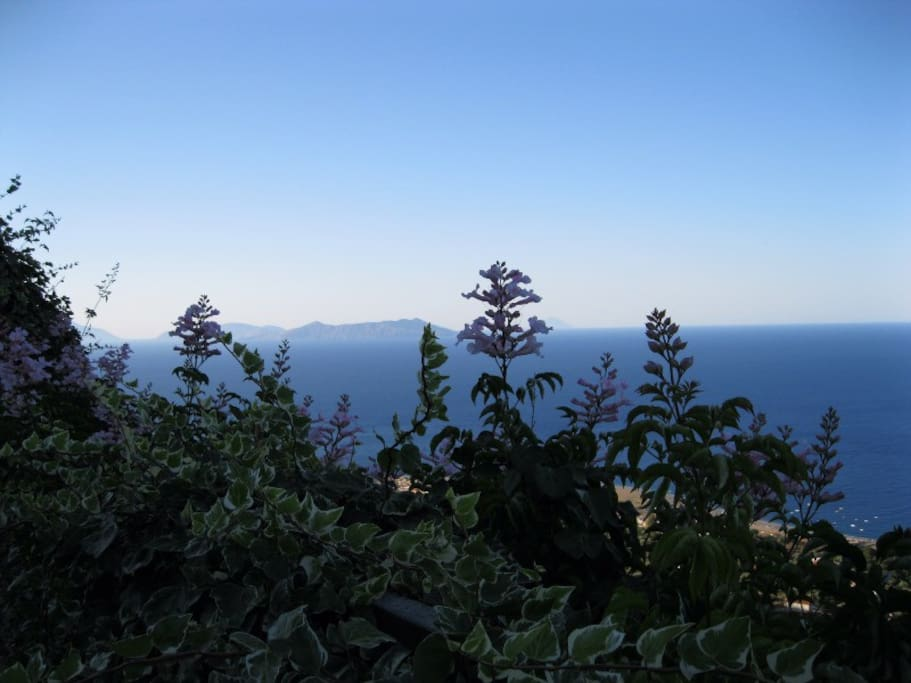 Vista sulle Isole Eolie