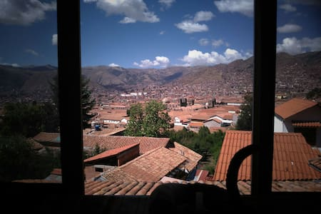 Super View Private Room Double bed in Cusco Center - Cusco