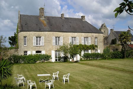 Manor House by Sea Utah Beach 4 km. - Fontenay-sur-Mer - Hus