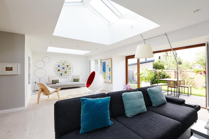 202 sq m designer home in London