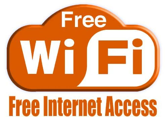 free internet in all areas