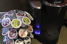 Abundance of coffee!